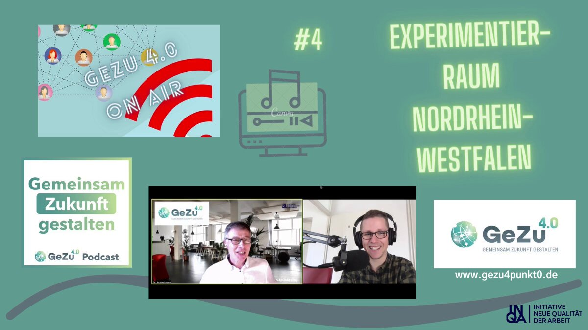"Folge 4 vom #gezu4punkt0 Podcast ist ""on air""."