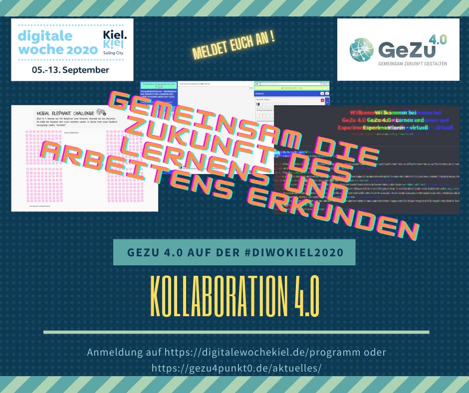 GeZu 4.0 auf der digitalen Woche Kiel – #diwokiel2020