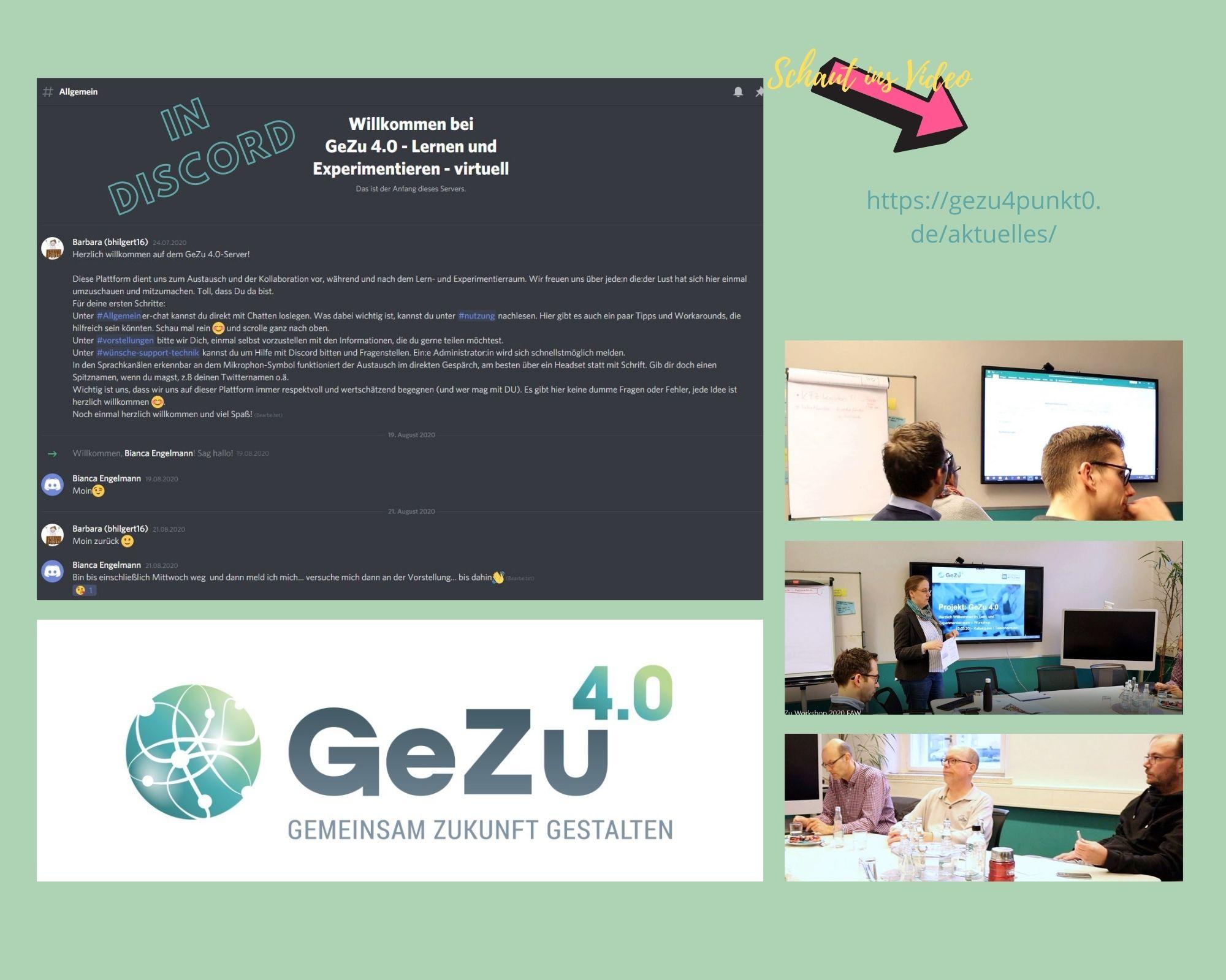 Gestatten – Der neue virtuelle Lern- und Experimentierraum von GeZu 4.0