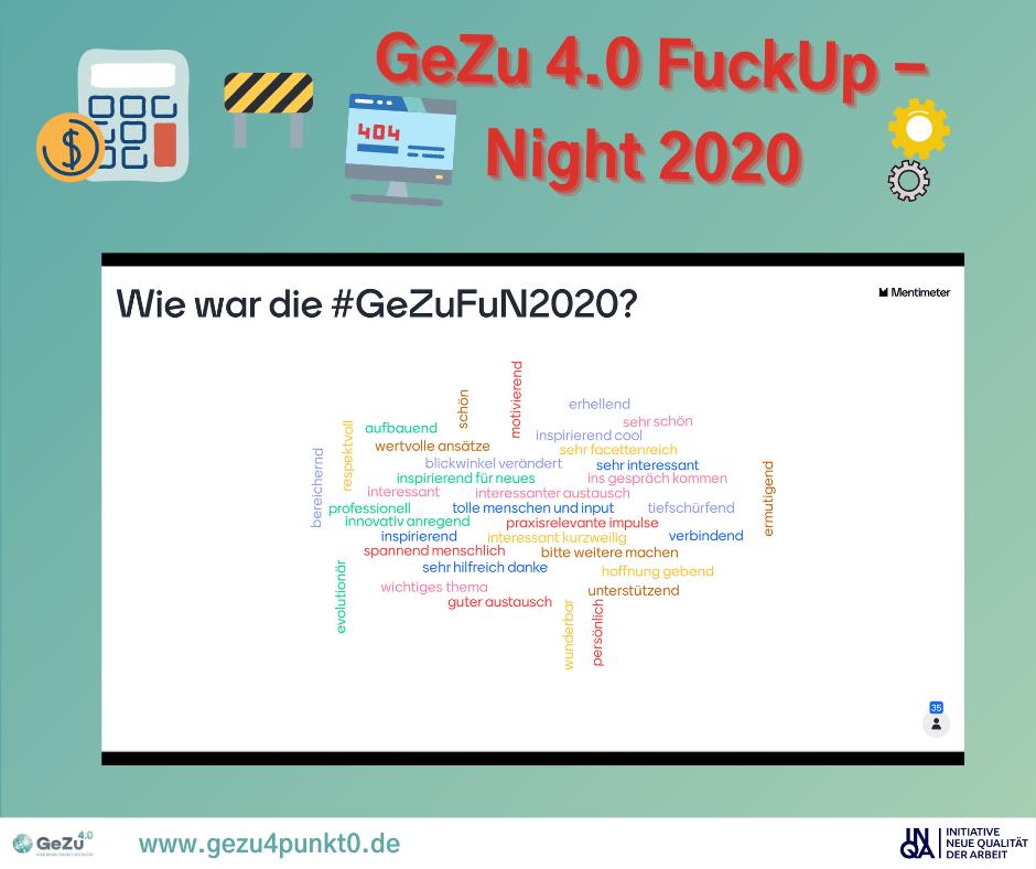 #GeZuFuN2020 – Recap und eine Strategie zur Entwicklung einer Fehlerkultur im Unternehmen