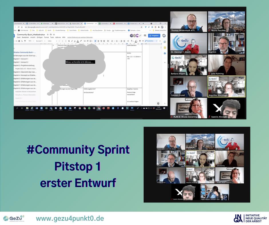 #CommunitySprint – Pitstop 1 und Podcastfolge